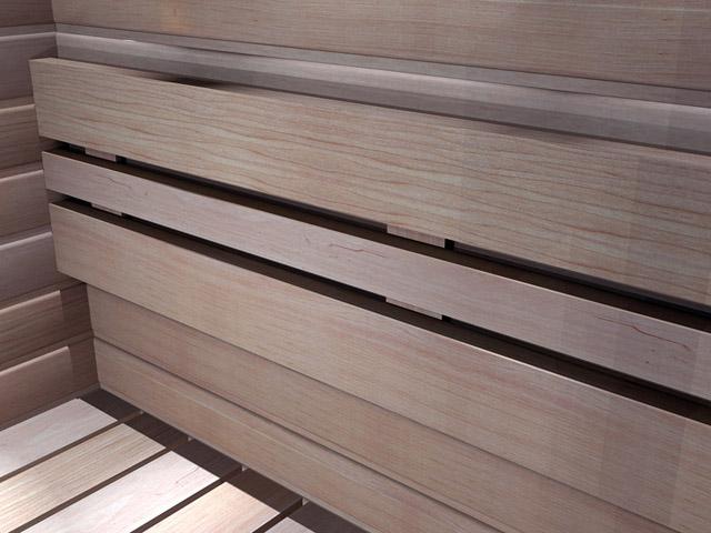 Sähköpatteri saunaan